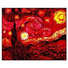 Fiery Night Poster