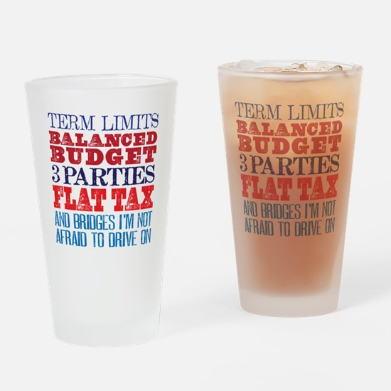 My Demands Drinking Glass