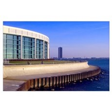 Shed Aquarium on Chicago's Lakefront 23x35 Print Poster