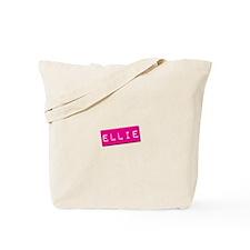 Ellie Punchtape Tote Bag