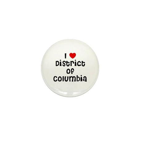 I * District of Columbia Mini Button