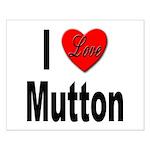 I Love Mutton Small Poster