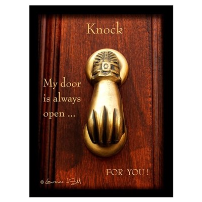 """""""Knock-2"""" Poster"""