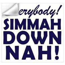 Funny SNL Simmah Down Nah Wall Decal