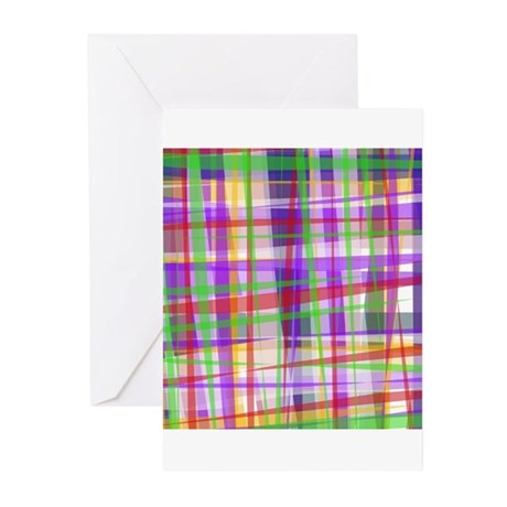 Plaid by Hand Greeting Cards (Pk of 10)