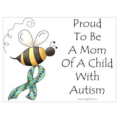 Autism Mom Canvas Art