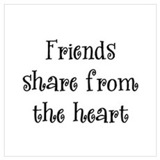 Friends Share Poster
