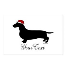 Santa Doxie Postcards (Package of 8)