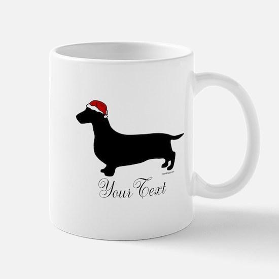 Santa Doxie Mug