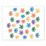 Pattern of Flowers Small Poster