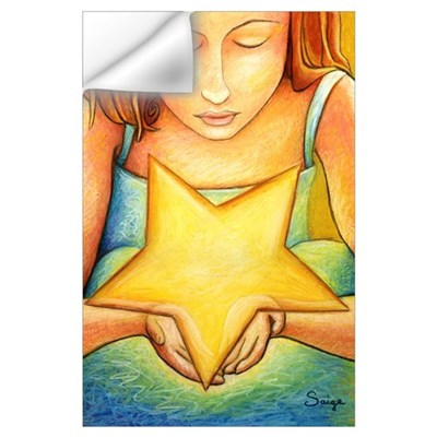 The Star Keeper's Wish Wall Decal