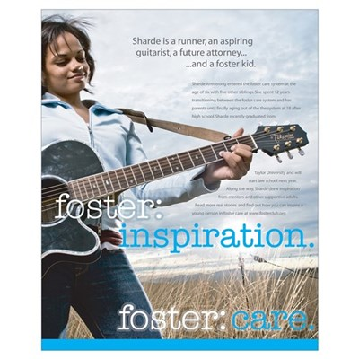 foster:care. Sharde Poster