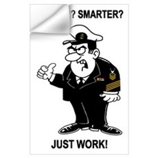 Master Chief Petty Officer Wall Decal