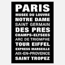 Paris Bus Roll Destination