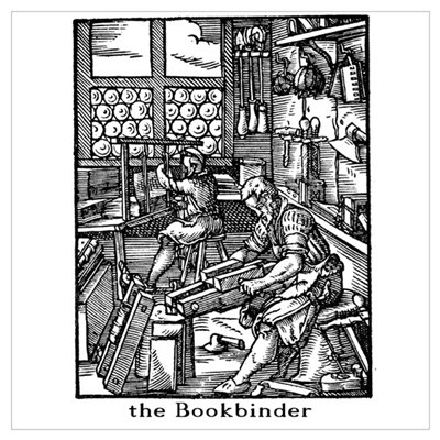 the Bookbinder Poster