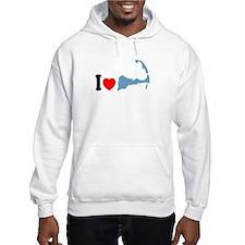 Cape Cod MA - I Love Cape Cod. Hoodie