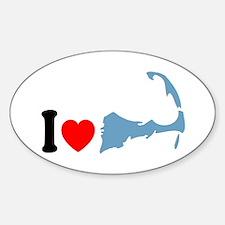 Cape Cod MA - I Love Cape Cod. Decal