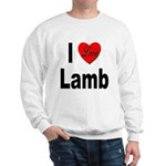 I Love Lamb Sweatshirt
