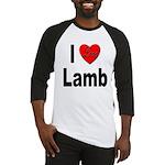 I Love Lamb Baseball Jersey