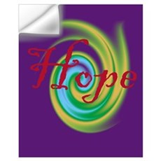 small Hope Wall Decal