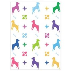 Jack Russell Terrier Designer Poster