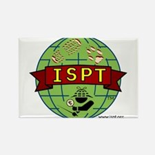 ISPT Logo Rectangle Magnet
