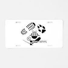ISPT Icon Aluminum License Plate
