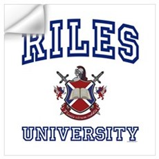 RILES University Wall Decal