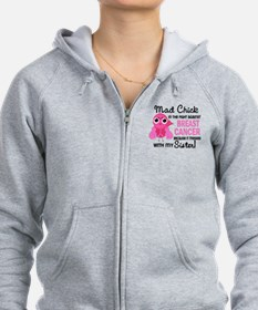 Mad Chick 2 Breast Cancer Zip Hoodie