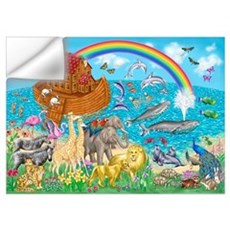 Noah's Ark Animal Wall Decal