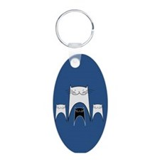 Smiling Cats Keychains