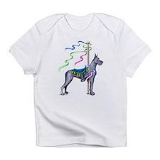 Great Dane Blue Carousel Infant T-Shirt