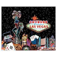 Las Vegas Lights Poster