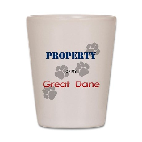 Great Dane Property Shot Glass