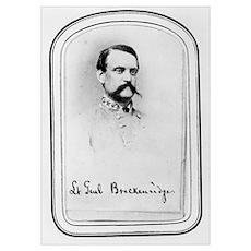 General Breckenridge Poster