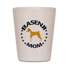 Basenji Mom Shot Glass