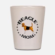 Beagle Mom Shot Glass