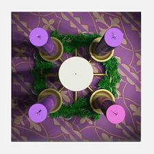 Advent Wreath Tile Coaster