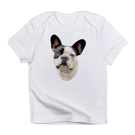 French Bulldog BW Bust Infant T-Shirt
