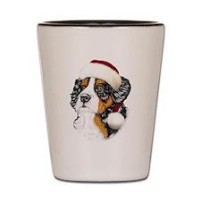 Santa Berner Shot Glass
