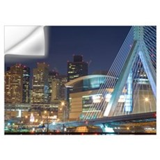 Zakim Bridge, Boston, Massachusetts Wall Decal
