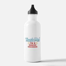 Trust Me Marine engineer Water Bottle