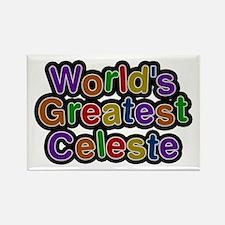 World's Greatest Celeste Rectangle Magnet