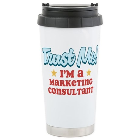 Trust Me Marketing consultant Stainless Steel Trav