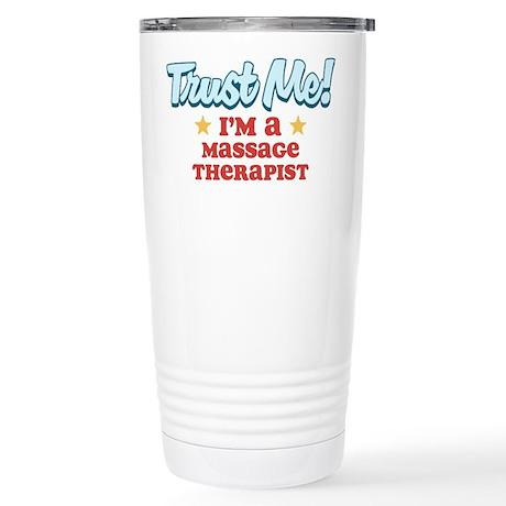 Trust Me Massage therapist Stainless Steel Travel