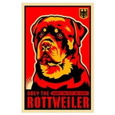 ROTTWEILER! Large Propaganda -$5 off... Poster