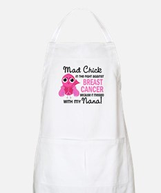 Mad Chick 2 Breast Cancer Apron
