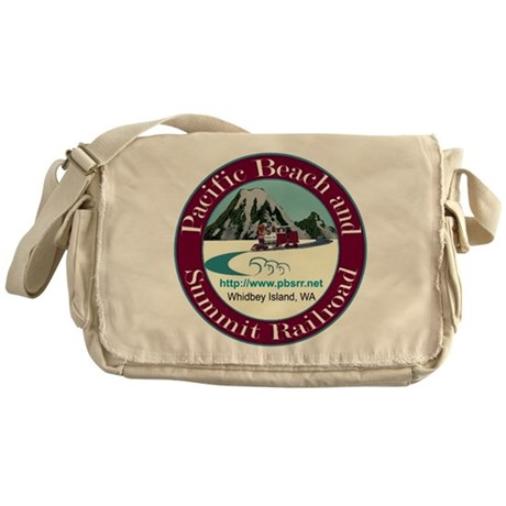 Pacific Beach & Summit Railro Messenger Bag