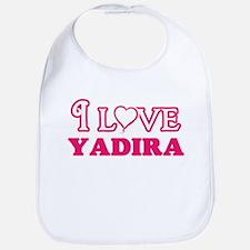 I Love Yadira Baby Bib