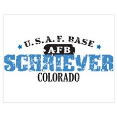 Schriever Air Force Base Poster